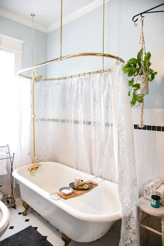 Imagine reclining in a relaxing bubble bath surrounded by lit candles. Self care 101