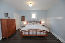 King Sized Bed, Master Bedroom