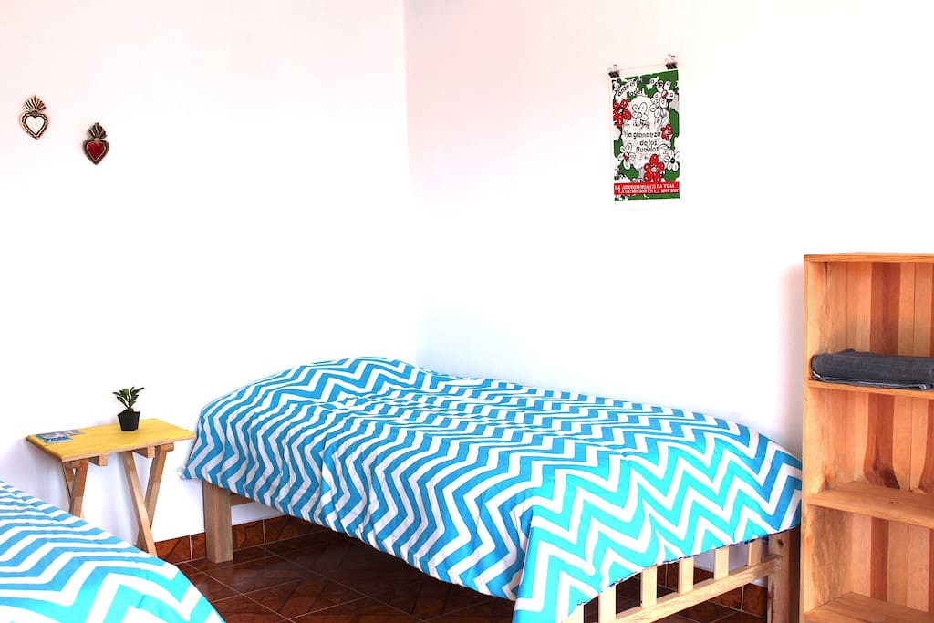 Amplio espacio para dos personas / big space for two people