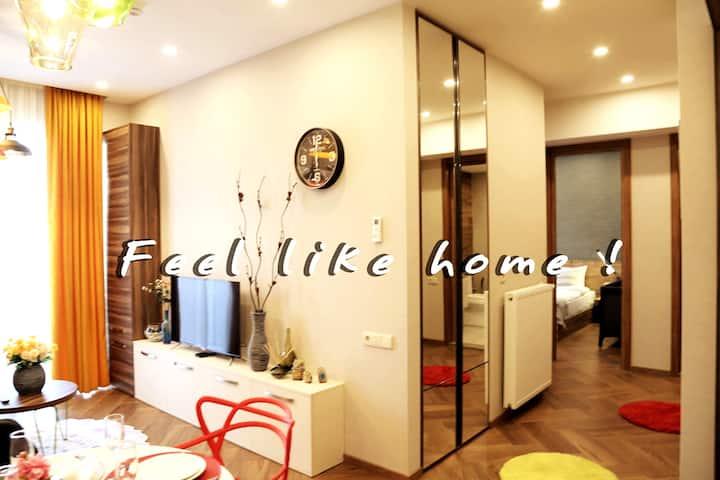 Colorful BB apartment #14, Saburtalo