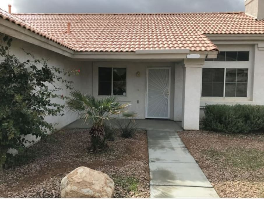This home is clean and fresh and on a quiet residential street. We have RV parking in our fenced yard.