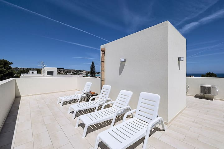Apartment just 80m from the sea and 400m from the center of San Vito lo Capo