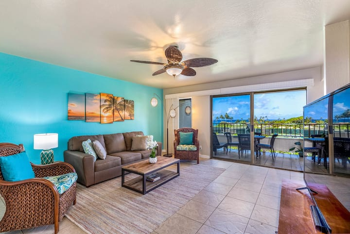 Incredible 1BR/1BA Ocean View Suite: Walk To Beach