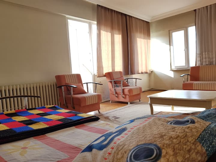 Private Large room In Bursa Center with Balcony