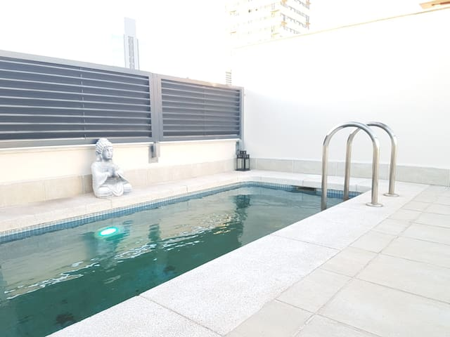 Lux Apartment with Private Swimming  Pool (Madrid)