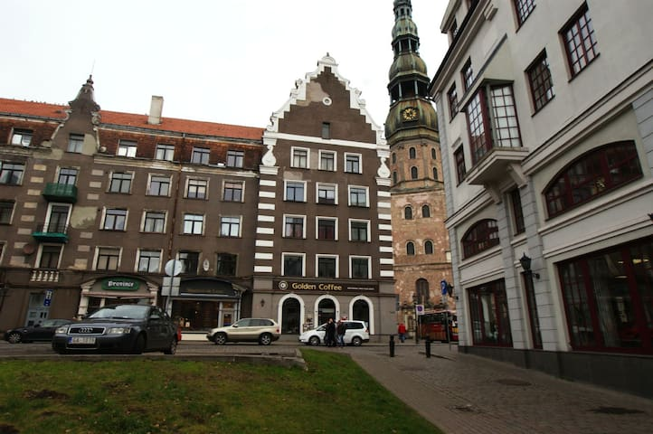 2  rooms Apartment in heart of Riga Old Town.
