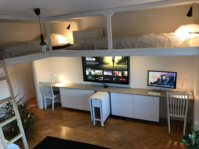 Studio apartment in Gothenburg for up to 7 guests - Göteborg - Apartment