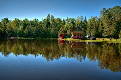 Chalet Rouge du Lac Stellan