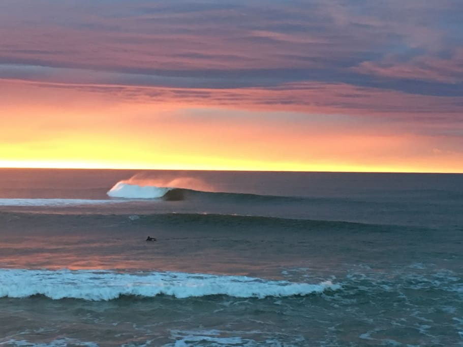 North Wall delivers amazing surf all year round.