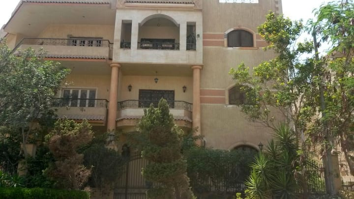 Luxurios Villa in Quite Place Suits Family (Egypt)