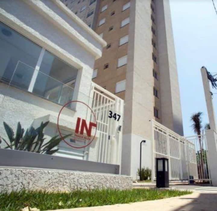 Apartamento com 2 quartos no belenzinho, MOBILIADO