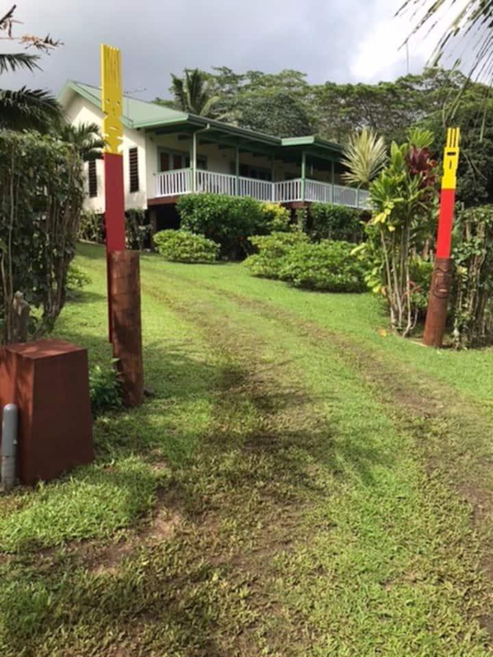Maison avec vue àTitikaveka/Takitumu