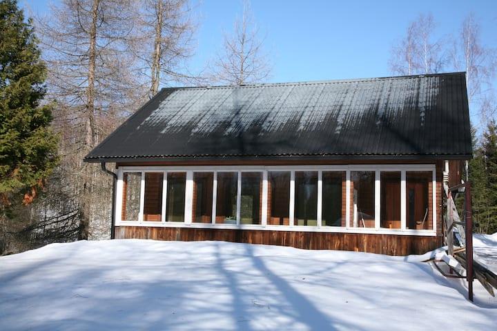 Mummola Himoksen kupeessa/ House next to Himos