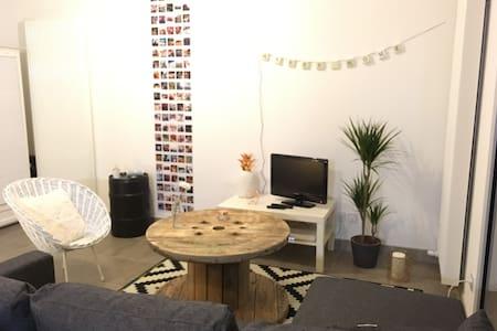 Joli appartement tourangeau avec terrasse - Тур - Квартира