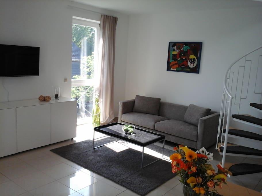 maisonette wohnung mit balkon traumaussicht g stesuiten zur miete in sankt johann rheinland. Black Bedroom Furniture Sets. Home Design Ideas