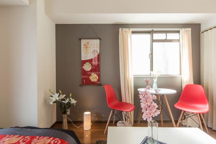 3min from Shijo-Omiya cozy house - Kyoto - Apartament