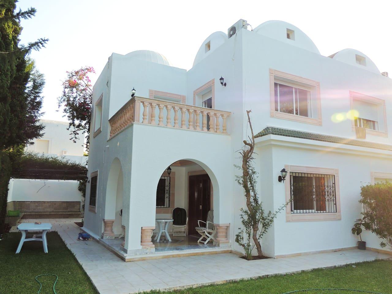 Villa haut standing hôtel africa jade korba vacation homes for rent in korba nabeul tunisia
