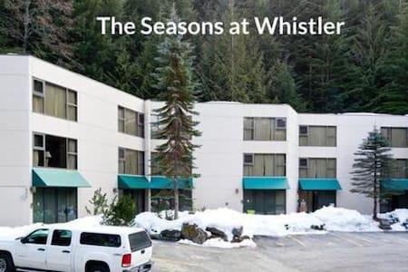 Seasons at Whistler.  Spacious townhouse -sleeps 8