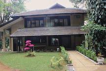 Villa Bambu Wisata Bukit Baros Sukabumi Nature Lodges