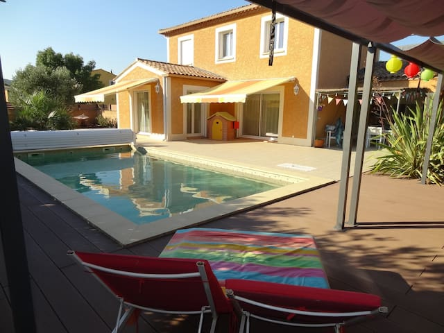 house with swimming pool - Mireval - Ev