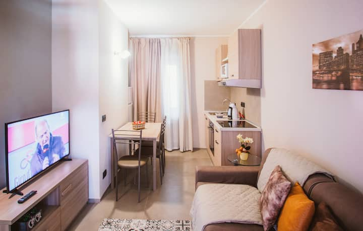 Cosy apartment in Alba with parking box