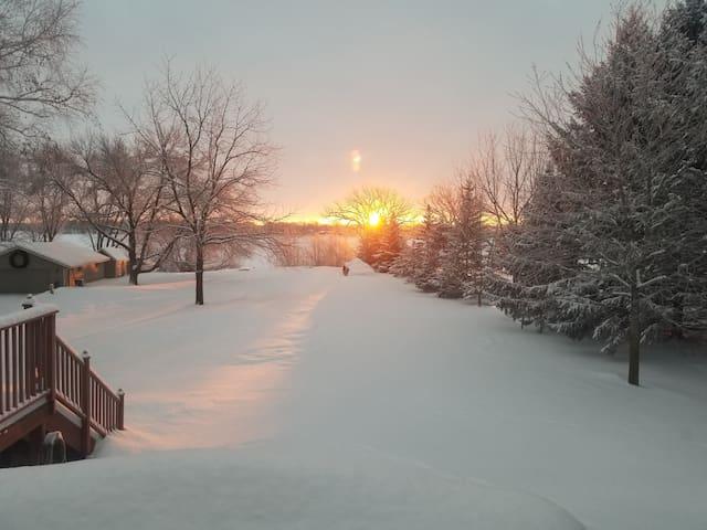 Sunrise spectacular!