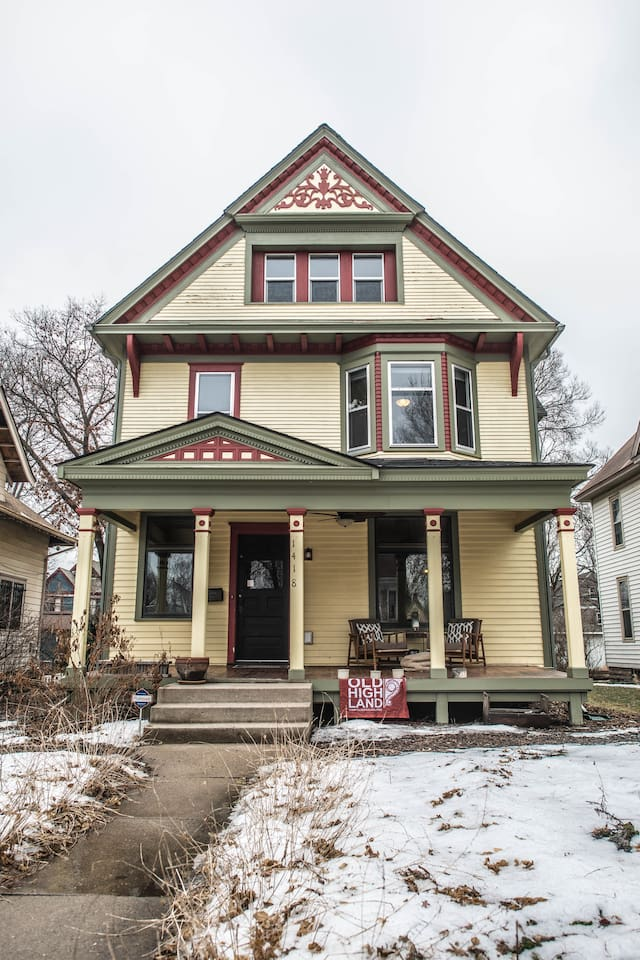 Victorian Era House with modern improvements and classic charm