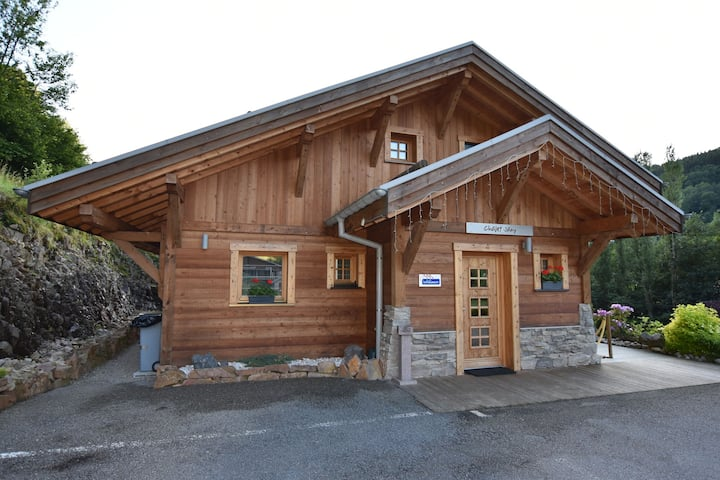 Mooi chalet in La Bresse met sauna