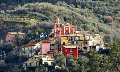 La casa de Gemma, en Fontona a 3 km de Levanto