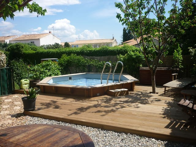 Maison avec piscine proche des plages de Hyères - La Farlède - Ev