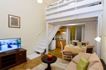 Belvárosi apartman (3.sz.) a Dobó térnél - Eger