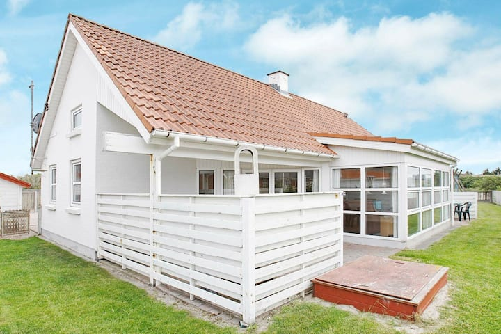 Moderna casa vacanze a Thisted con sauna