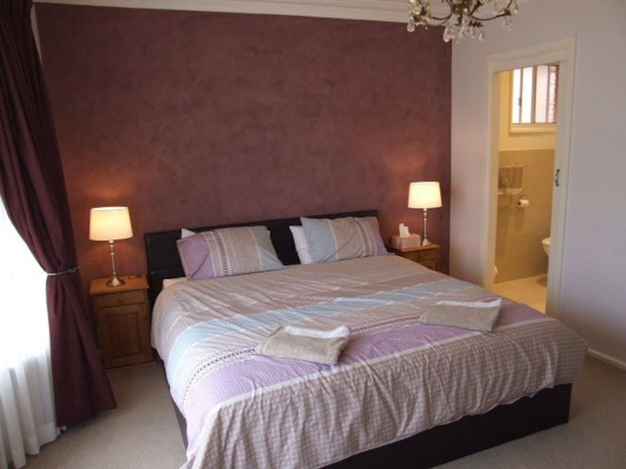 Brand new King Size bed and ensuite