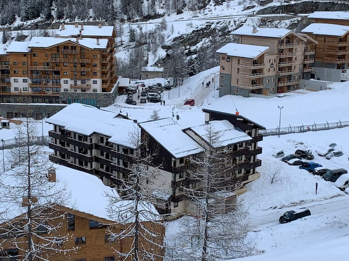 TIGNES 1800 - Duplex 5/6 pers - on ski slope