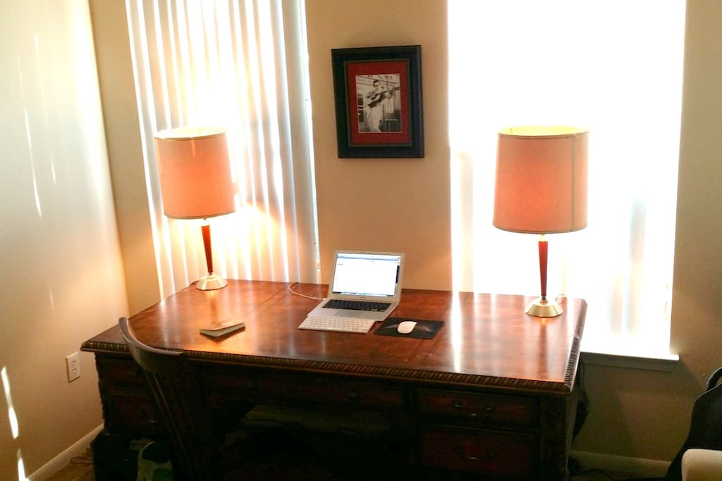 Awesome writing desk.