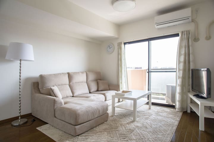 ☆Family Friendly 3 bedrooms with Wifi & Parking☆ - Amagasaki-shi - Apartment