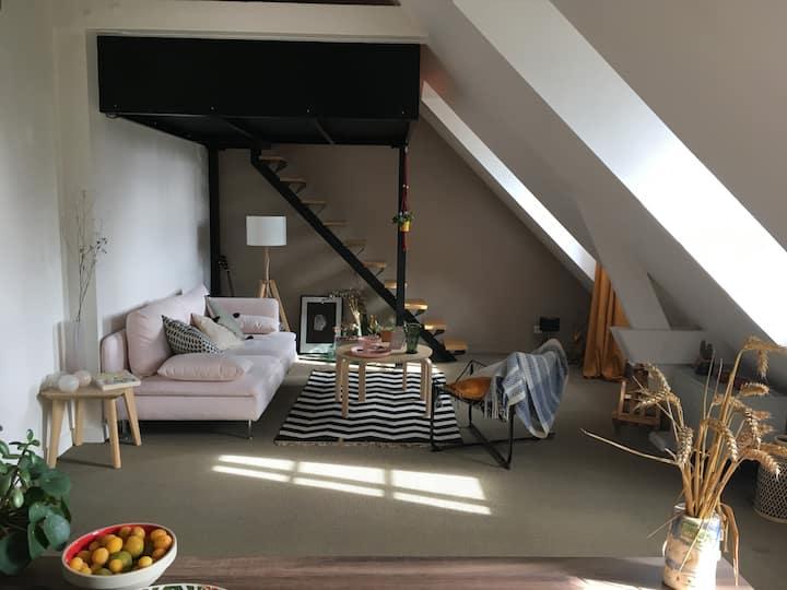Très joli studio dans résidence, Senlis centre