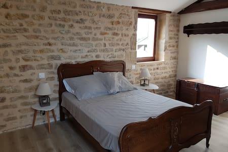 Maison de charme Bourgogne - campagne jardin sauna