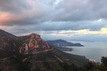 mountainbiking, hiking, walking ... it is all a pleasure in the massif de l'esterel