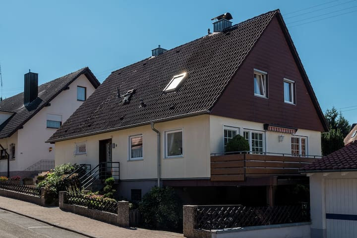 Cheerful apartment near the historic city centre of Haslach