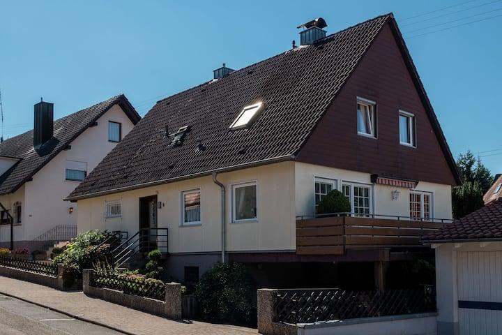 Cheerful apartment near the historic city centre of Haslach
