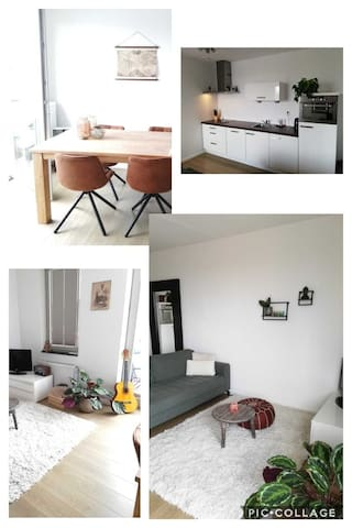 Modern, relaxed appartement in the city centre!