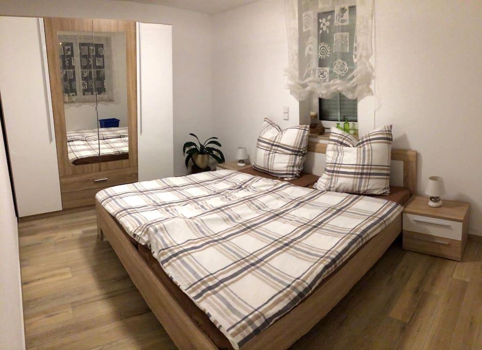Schlafzimmer Erzgebirgsferien