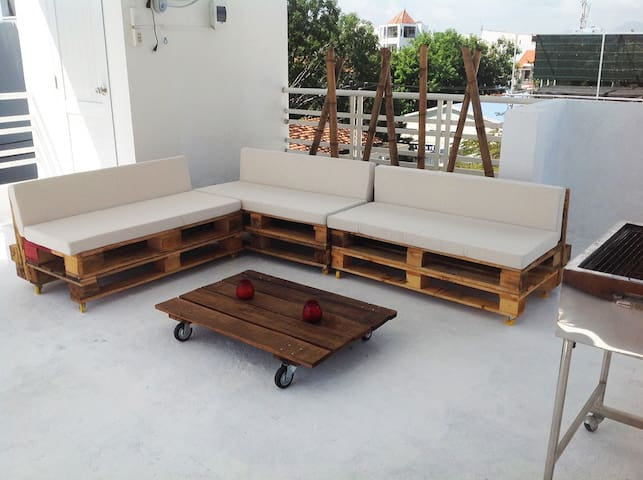 PANORAMIC ROOFTOP TERRACE - tp. Nha Trang - Appartement