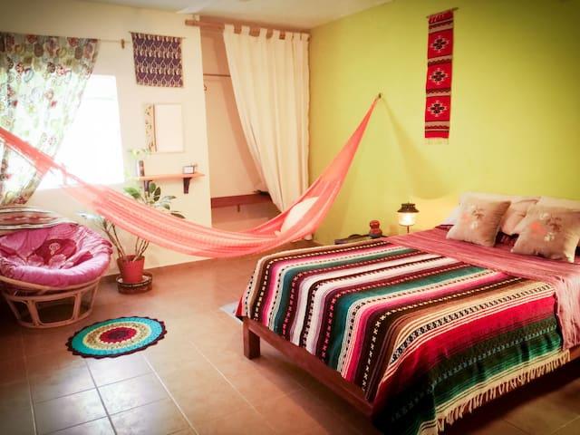 Wa'atal Otoch-La Casa del Descanso-Private Room 2