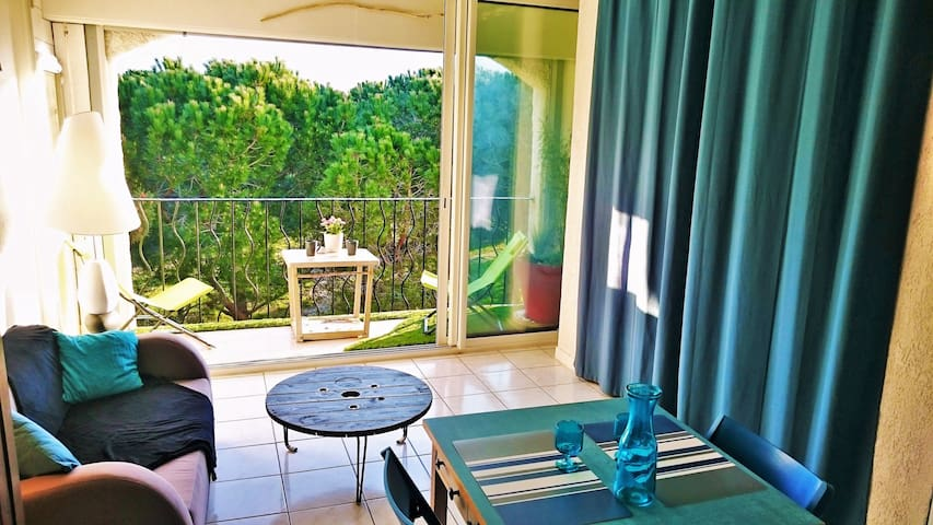Seafront cosy flat, queen size bed - Argelès-sur-Mer