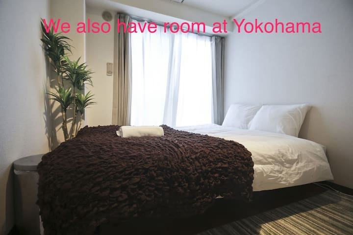 Nice room at 7min to Shinjuku 到新宿7分 - 杉並区 - Apartamento