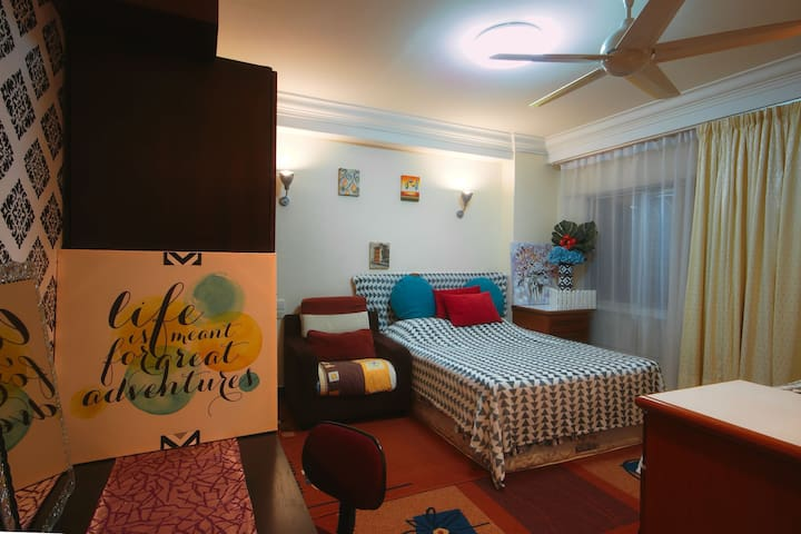 Best Room #5 KKCityCentre@Api-Api Katrina Homestay