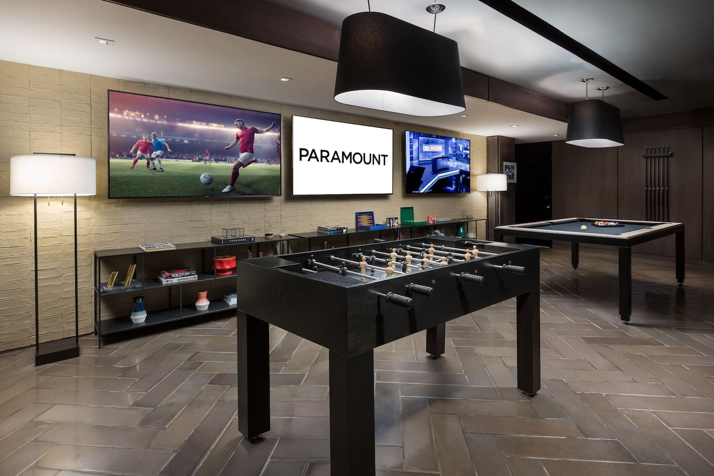 Game Section inside Paramount Cafe & Bar
