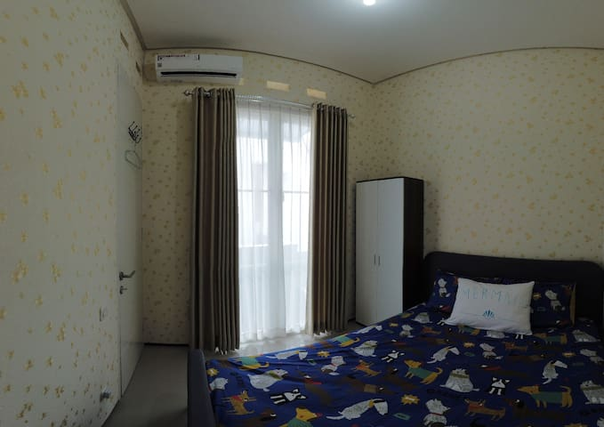 bedroom #2 (with AC)